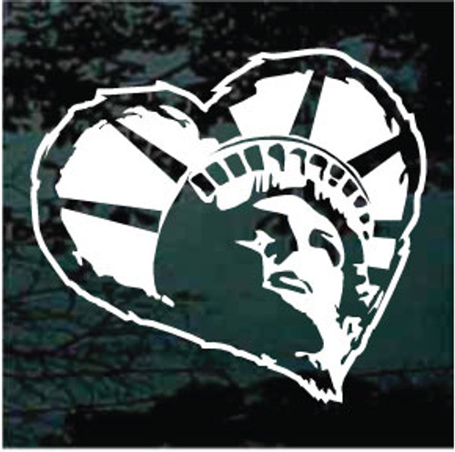 Statue of Liberty Heart