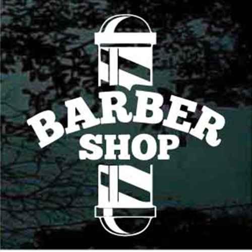 Barber Shop Window Sign