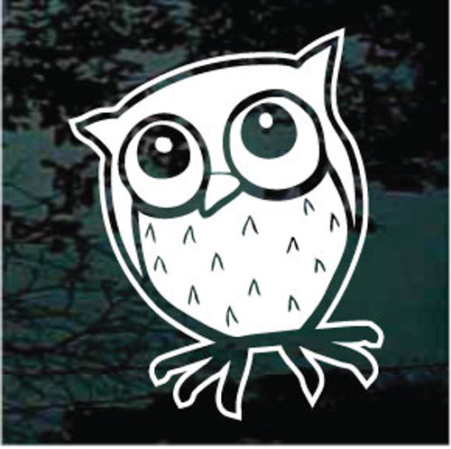 Charming Owl Decals