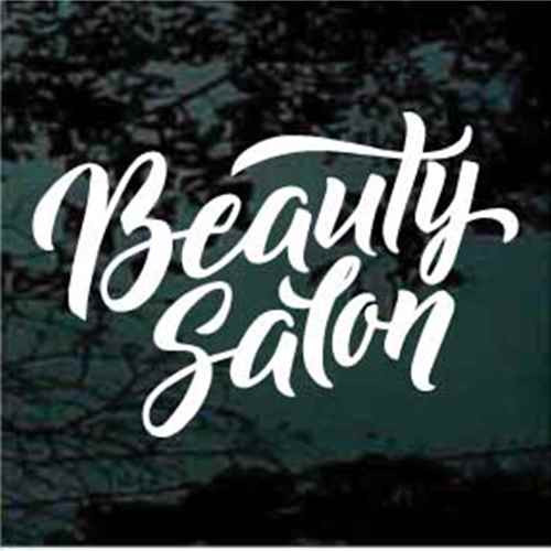 Beauty Salon Window Sign