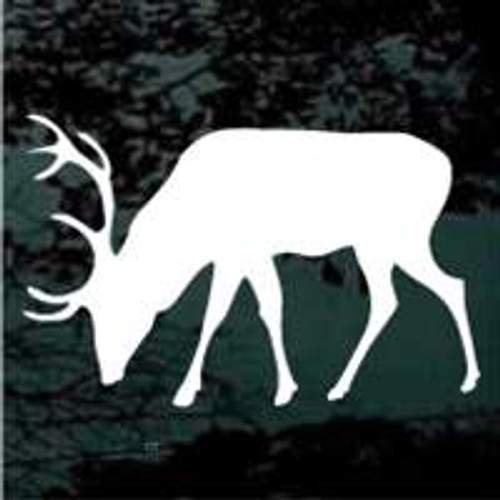 Elk Silhouette 09 Window Decal