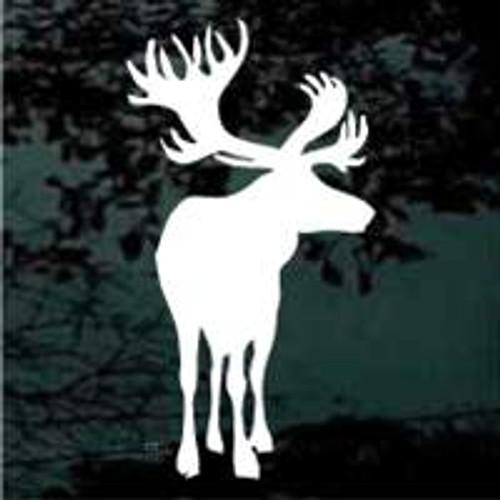 Large Moose Decals