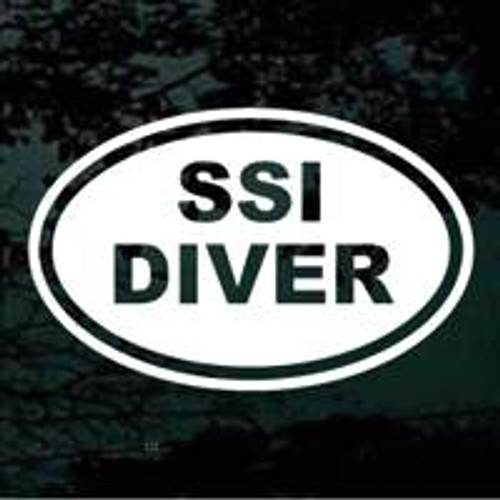 SSI Diver Oval