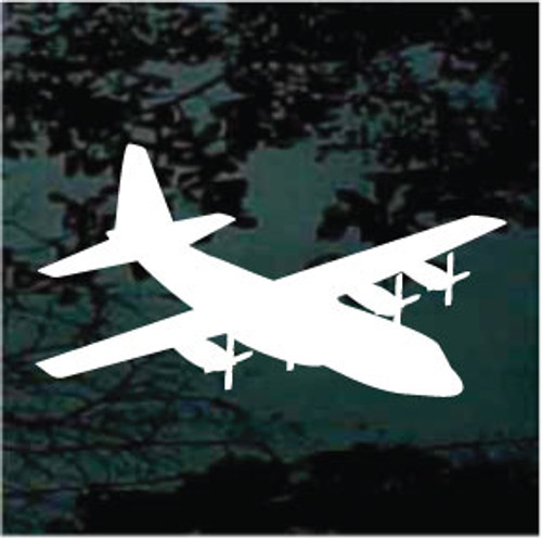 Aircraft Silhouette Window Decals