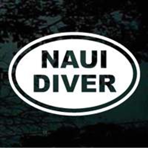 NAUI Diver Oval