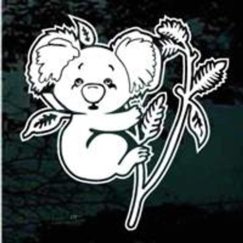 Cute Koala Bear Window Decals