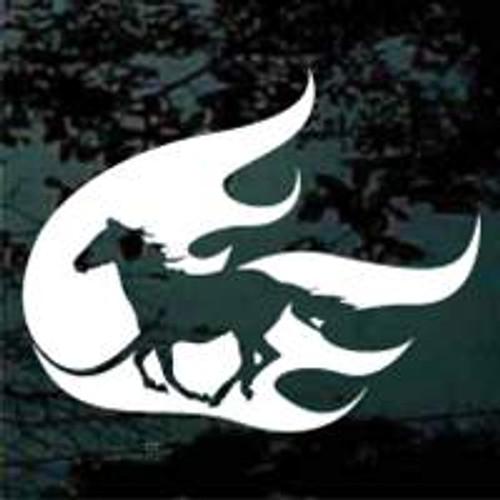 Silhouette Tribal Horse 05