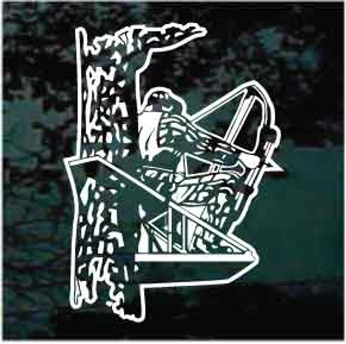 Bow Hunting Bow Hunter Window Decal
