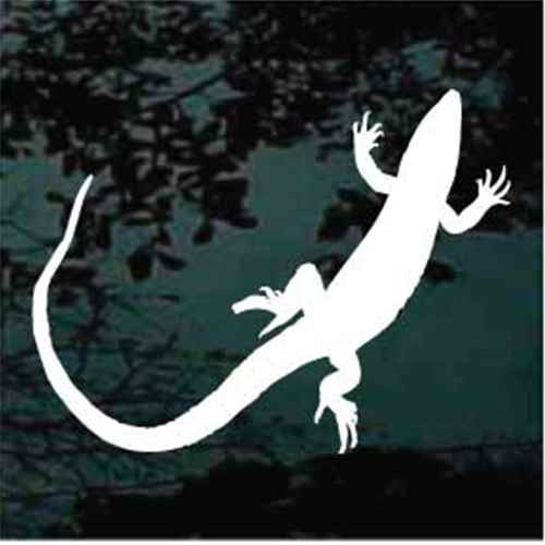 Lizard Silhouette Decals