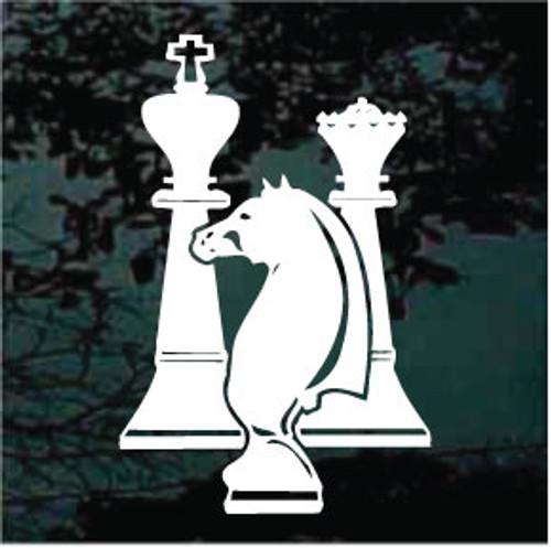 Chess Game Piece Decals