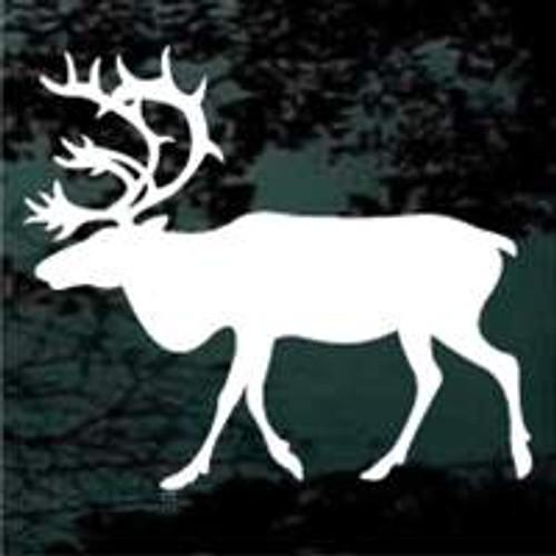 Mature Bull Elk Window Decals