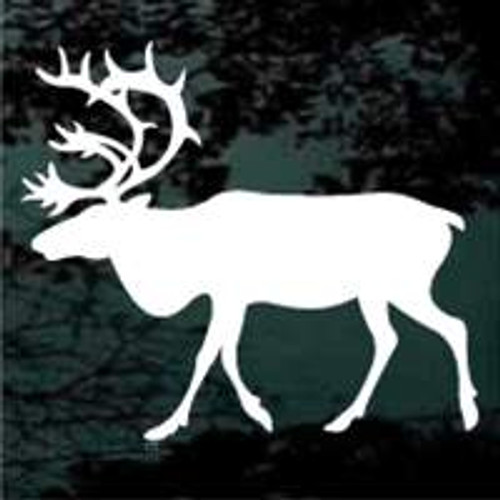 Mature Bull Elk Window Decals