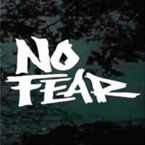 Grunge No Fear Decals