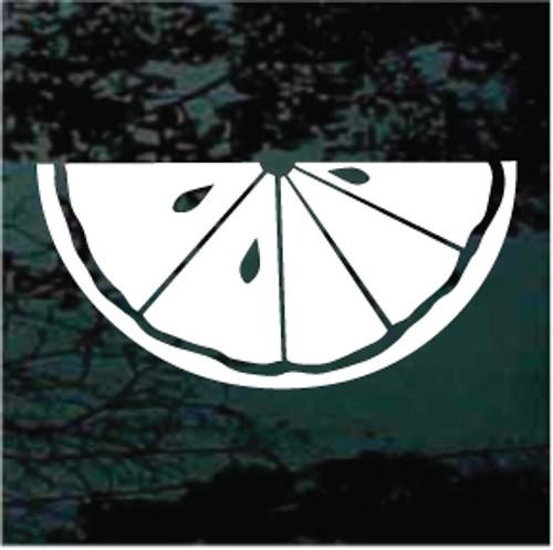 Lemon Lime Slice Window