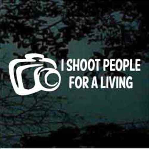 Camera I Shoot People For A Living Photography