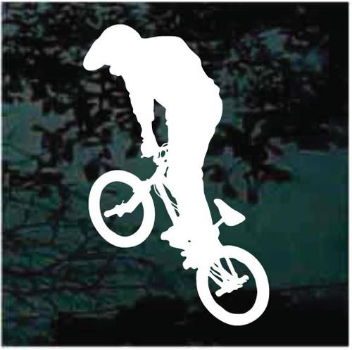 BMX Bicycle Stunt Rider Decals