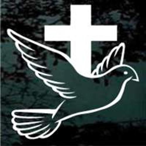 Cross With Dove 03