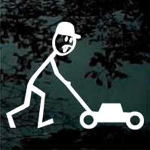 Stick Family Lawnmower Man