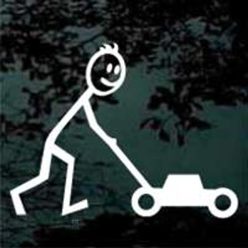 Stick Family Lawnmower Man 02