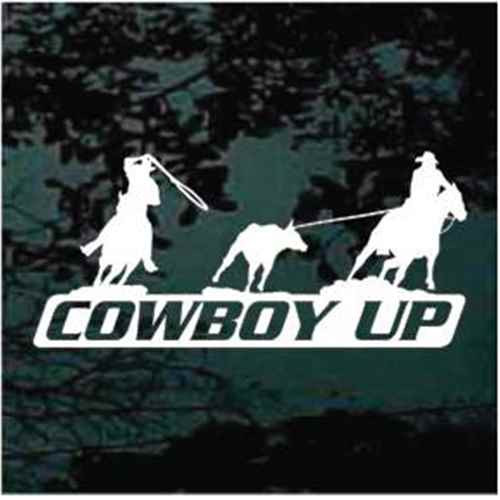 Cowboy Up Team Roping
