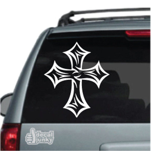 Barbed Tribal Cross