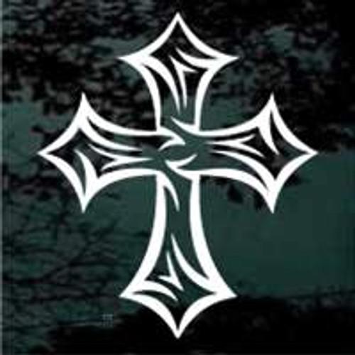 Barbed Tribal Cross