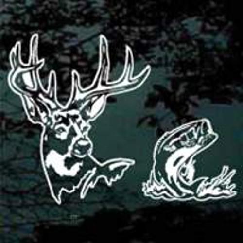 Sportsman Deer Head 01 Bass Fish