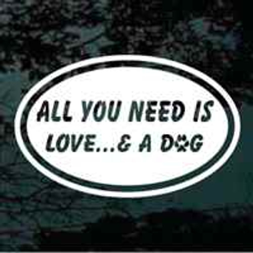 All You Need Is Love & A Dog Oval