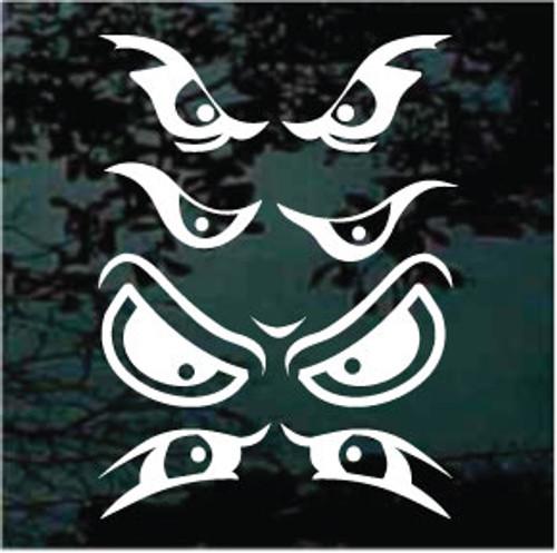 Four Scary Eyes