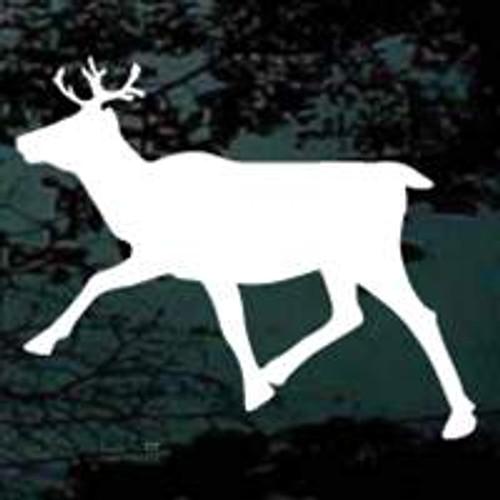 Caribou Walking Silhouette