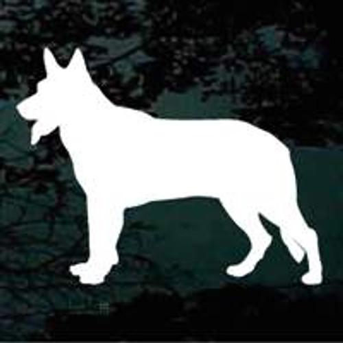 Dog Silhouette 04 Window Decal