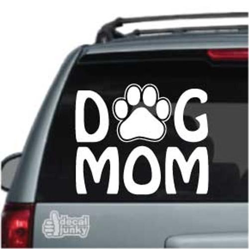 Dog Mom Car Decals