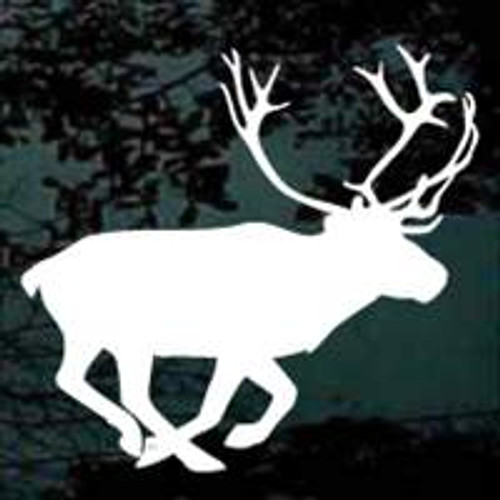 Caribou Trotting Away