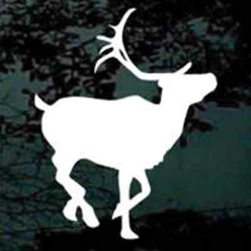 Caribou Silhouette Design