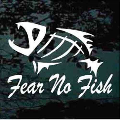 Fish Skeleton Fear No Fish