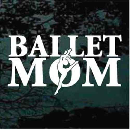Ballet Mom With Dancer Decals