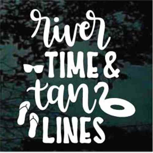 River Time Tan Lines Decals