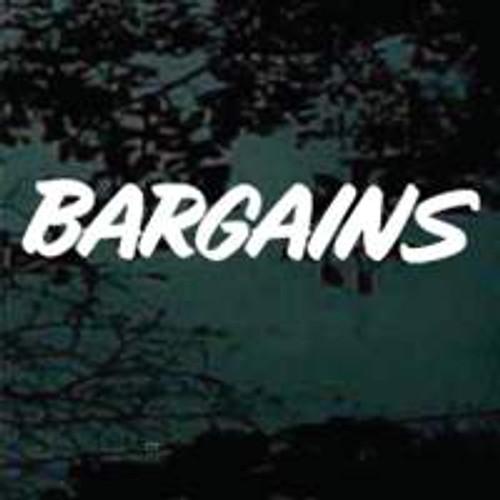 Bargains Window Sign
