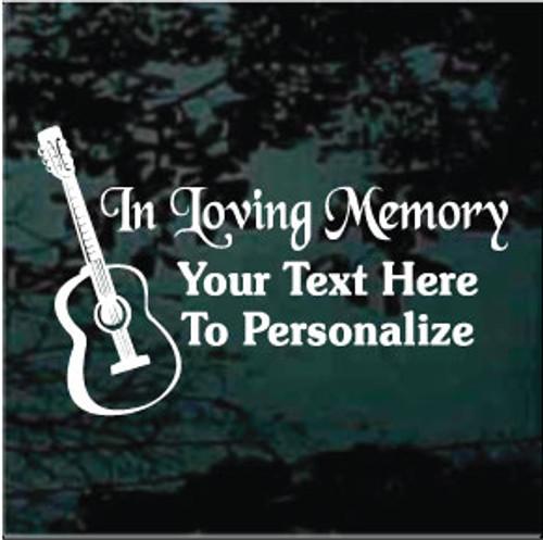 Acoustic Guitar Memorial