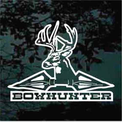 Bow Hunter Deer Hunting With Arrows