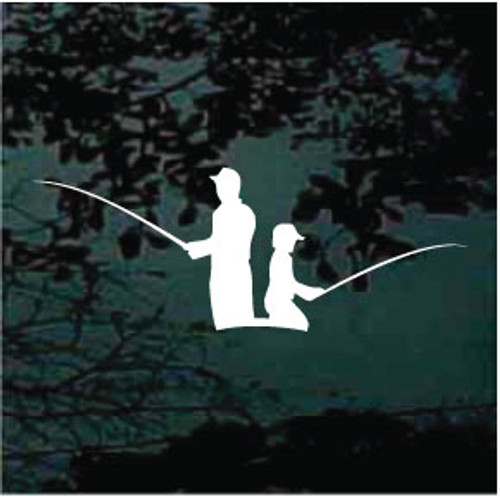 Father and Son Fishing 01