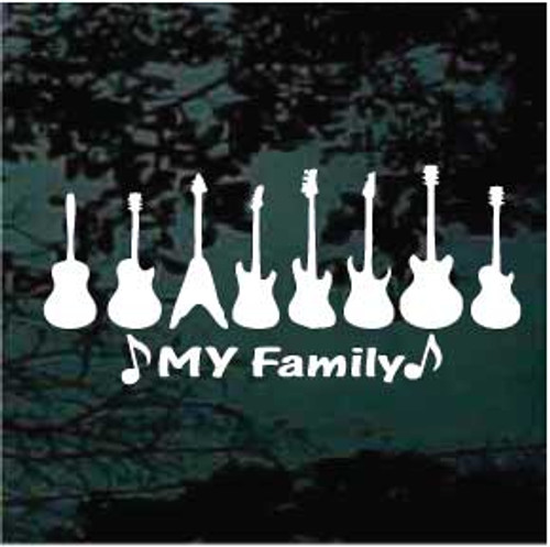 Guitar Family My Family