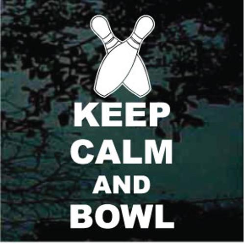 Keep Calm And Bowl