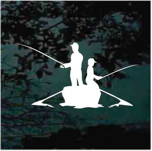 Father & Son Boat Fishing Decals