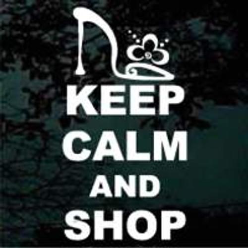 Keep Calm & Shop