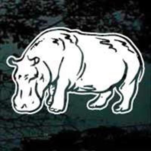 Realistic Hippopotamus Decals