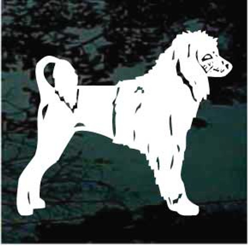 Portuguese Water Dog 01 Window Decal