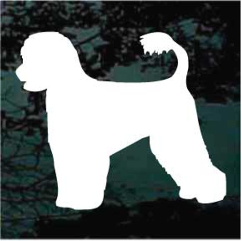 Portuguese Water Dog 02 Window Decal