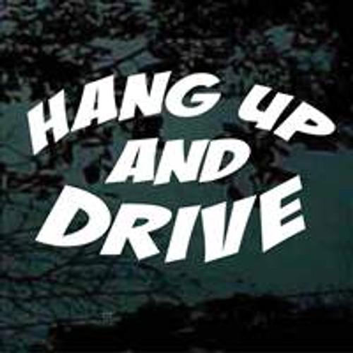 Hang Up & Drive Window Decals
