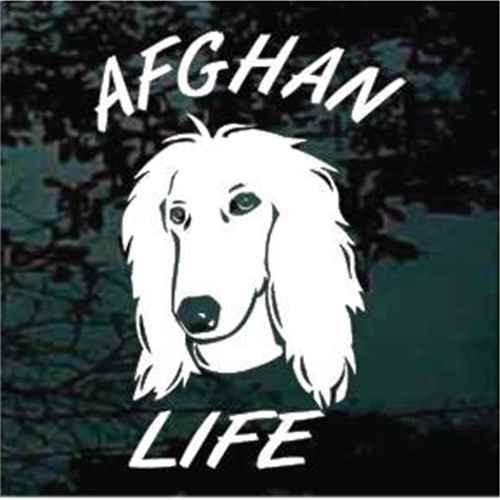 Afghan Life Window Decal